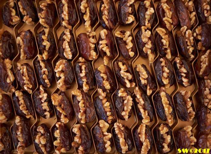 Dates & walnuts