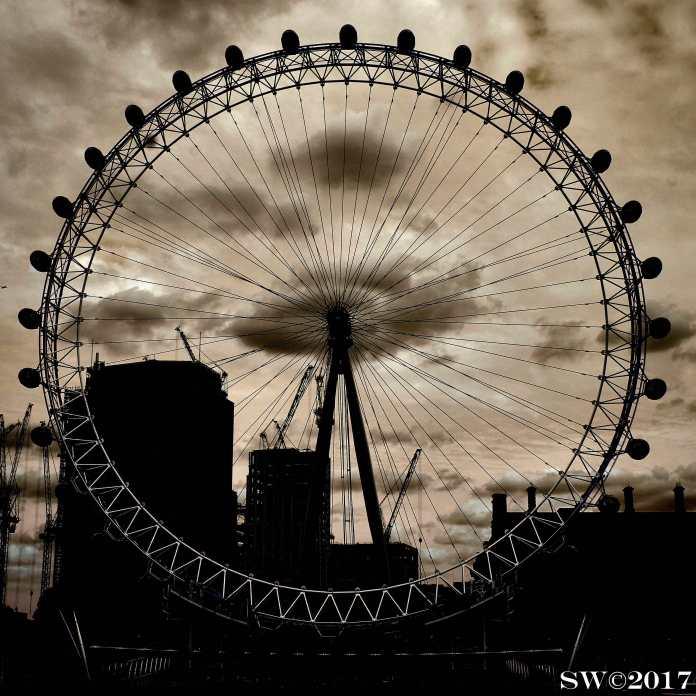 London Eye (sepia)