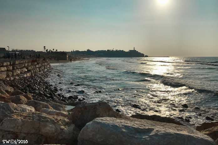 Jaffa from Alma Beach