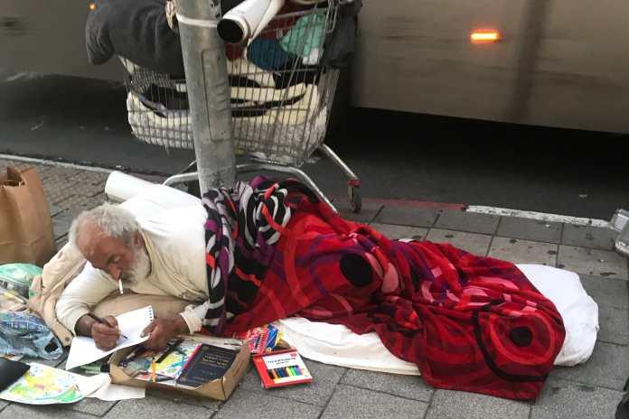 Street artist 1