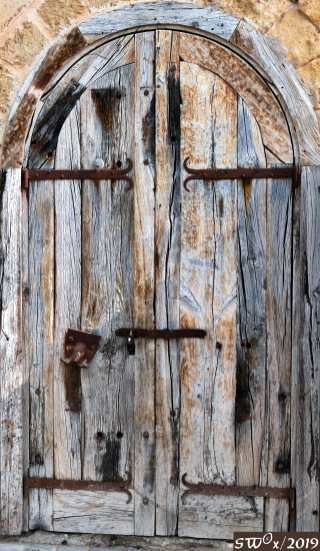 Doors at Jaffa Port