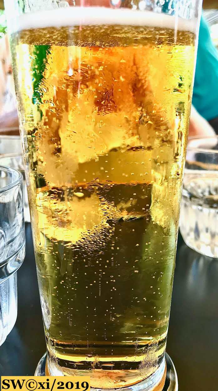 Beer and bubbles