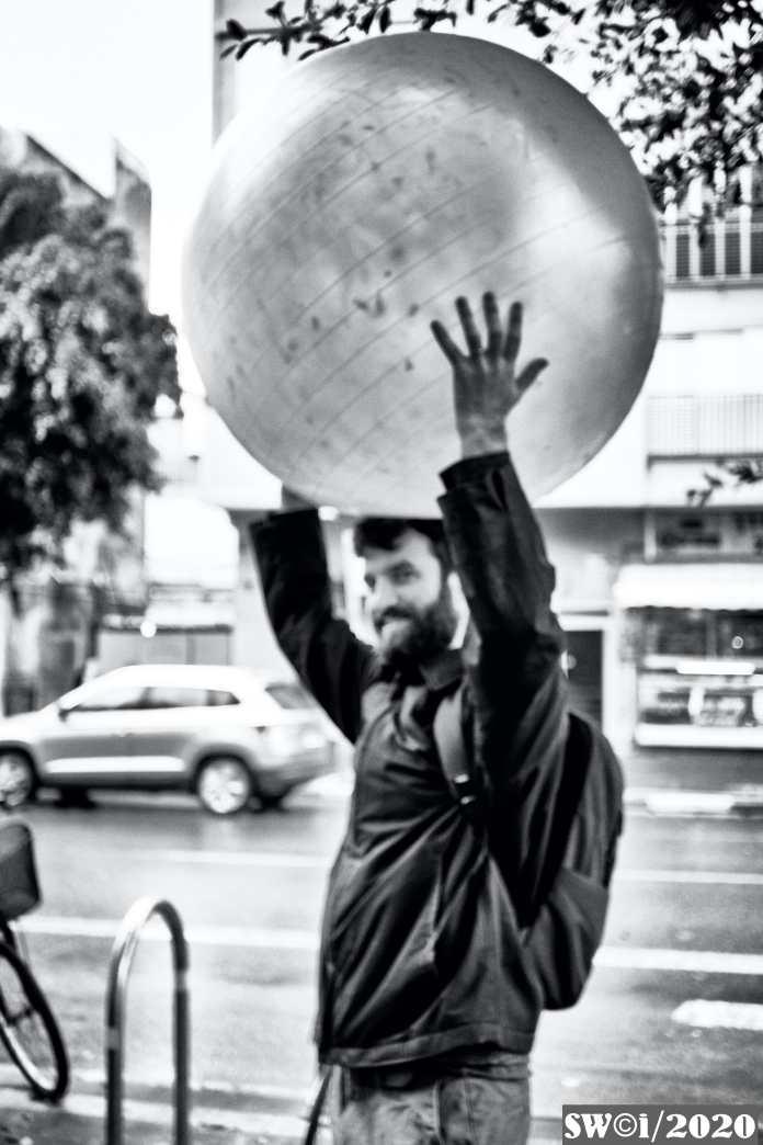 Balloon on Dizengoff