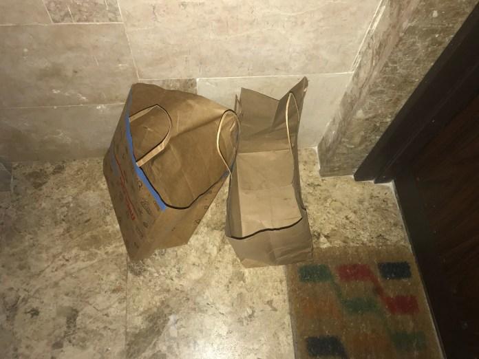 Empty paper bags - 1