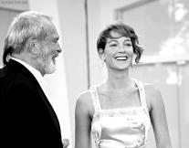 Terry Gilliam Cristiana Capotondi