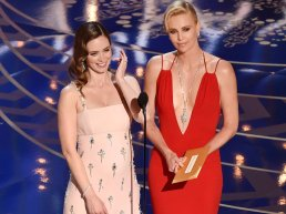 emily blunt charlize theron