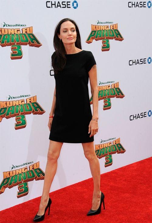 Анжелина Джоли: последние фото 2016, худая