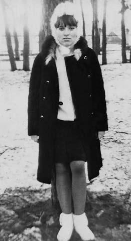 Валентина Матвиенко в юности