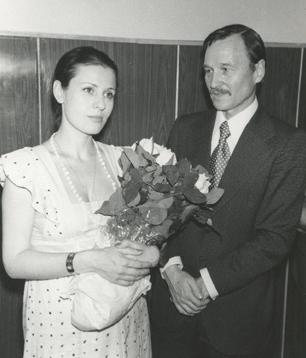 Валентина Толкунова и Юрий Попоров