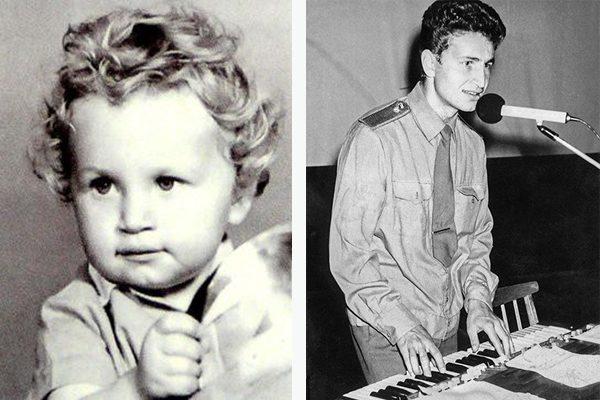 Леонид Агутин в детстве и молодости