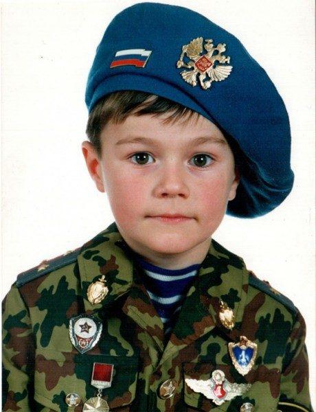 Олег Гаас в детстве