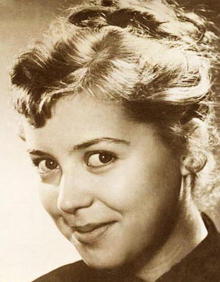 Светлана Карпинская в молодости