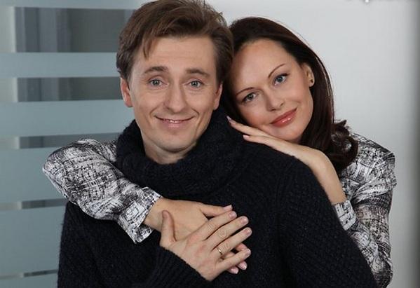 Сергей Безруков с женой Ириной