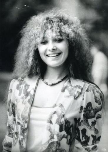 Анжелика Агурбаш в молодости. Фото