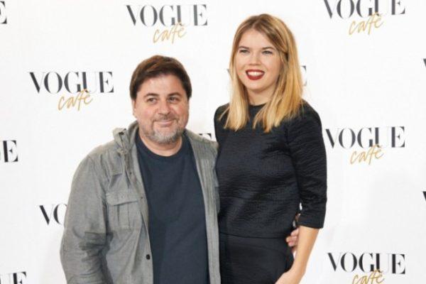 Александр Цекало и Викторией Галушка. Фото