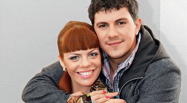 Анастасия Стоцкая и Алексей Секирин. Фото