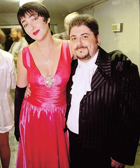 Александр Цекало и Лолита Милявская. Фото