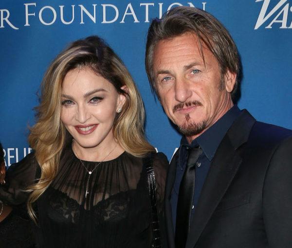 Мадонна с Шоном Пенном