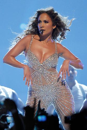 Дженнифер Лопес на концерте