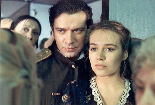 Владимир Машков с первой женой Еленой Шевченко