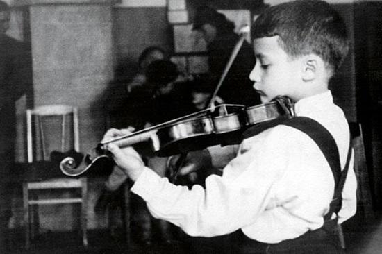 Владимир Спиваков в детстве