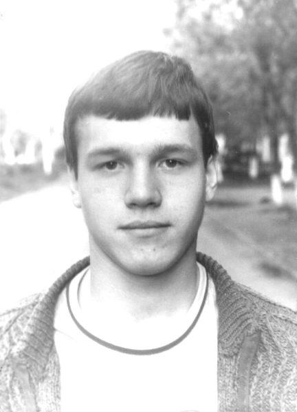 Сергей Наговицын в молодости. Фото