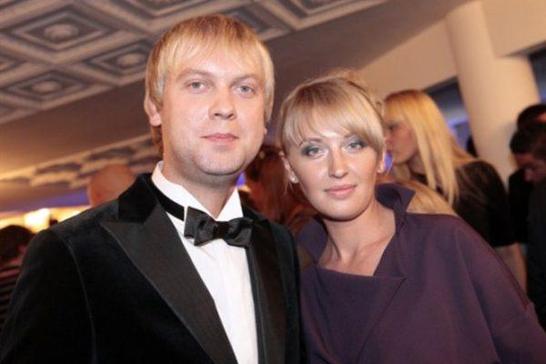 Сергей Светлаков и его первая жена Юлия. Фото