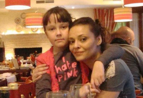 Анна Рождественская с дочерью