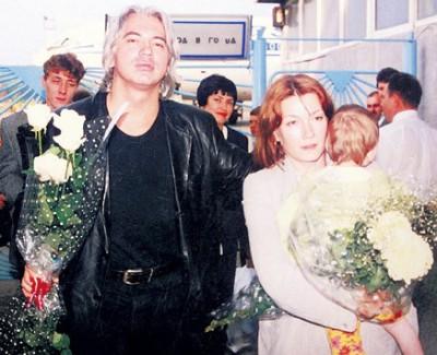 Дмитрий Хворостовский и Светлана. Фото
