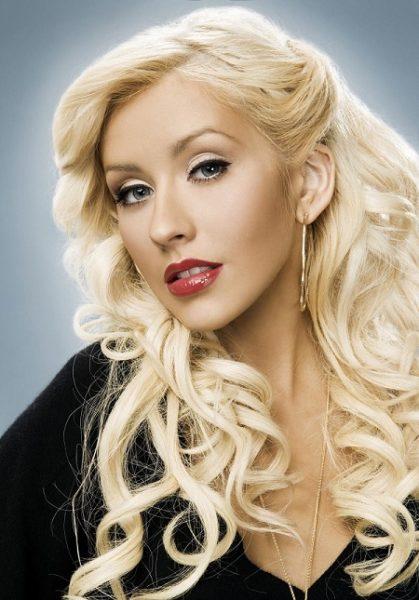 Певица Кристина Агилера