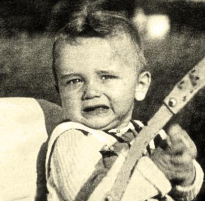 Арнольд Шварценеггер в детстве