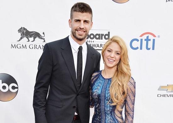 Шакира с мужем Жераром Пике