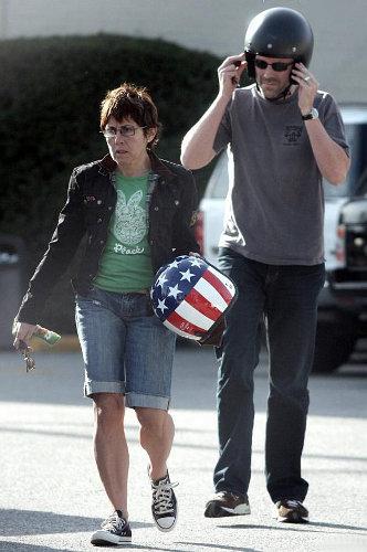 Хью Лори с женой Джо Грин. Фото