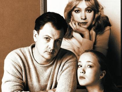Левтова Марина с мужем и дочерью