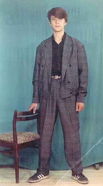 Виктор Логинов в молодости. Фото