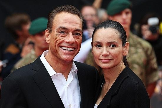 Жан-Клод Ван-Дамм с женой Глэдис
