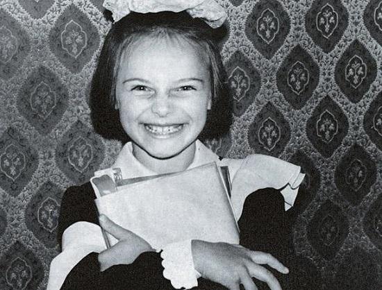 Анна Снаткина в детстве. Фото