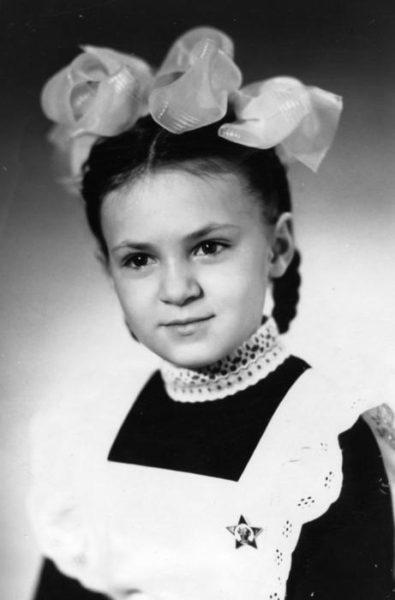 Яна Рудковская в детстве. Фото
