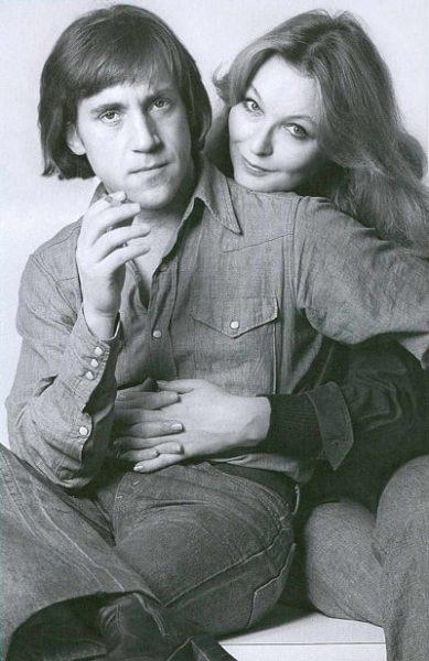 Владимир Высоцкий и его жена Марина Влади. Фото