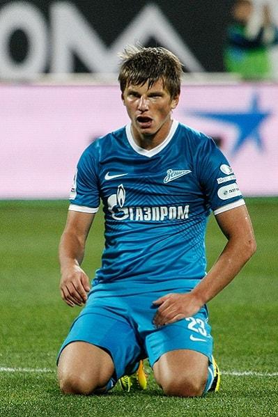 Футболист Аршавин