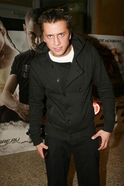 Павел Прилучный. Фото актера