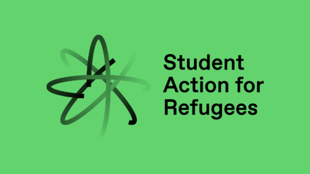 Student Action for Refugees logo