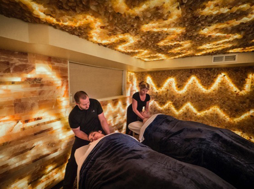 Zama Massage Therapeutic Spa now offers salt cave therapy. (Zama Massage Therapeutic Spa)
