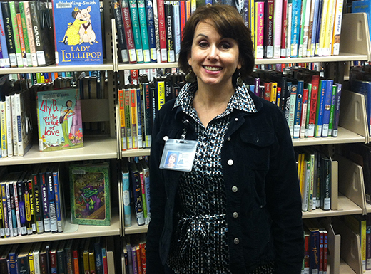 MaryGrace McGovern is the supervisor of the Hollywood Library in Northeast Portland, (Jane Perkins)