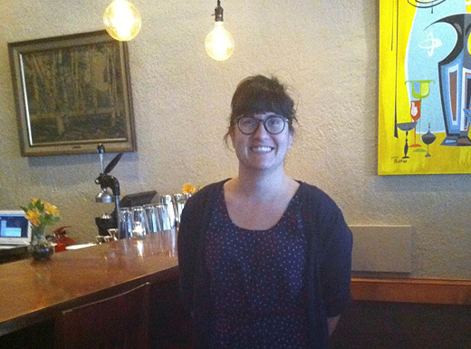 Alameda Cafe co-owner Rosie McGown extended the restaurant's hours in March. The Northeast Fremont restaurant will now be open Monday-Sunday from 8 a.m.-3 p.m. for brunch and Monday-Saturday 3 p.m.-9 p.m. for dinner. (Jane Perkins)