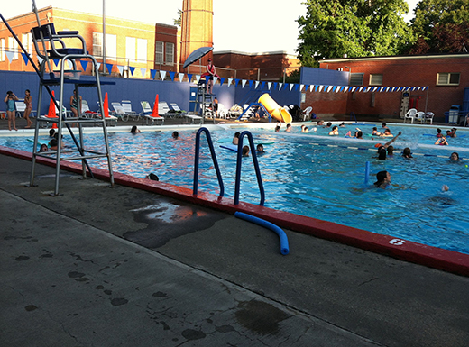 Grant Pool in Northeast Portland offers junior lifeguard training, junior swim training and open play swims. Special events are also available. (Jane Perkins)
