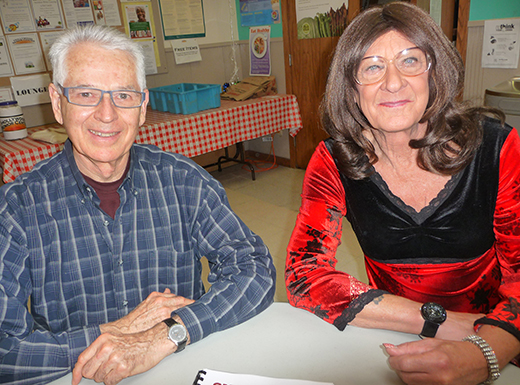 Howard Schneider, left, a retired research pharmacologist, and Mizeta Moon, retired from retail sales, write every day and take workshops. They collaborated on a collection of short stories. (Janet Goetze)