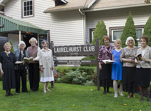 Members of the Laurelhurst Study Club review current fiction and nonfiction selections in members homes. (Portland Event Photography)