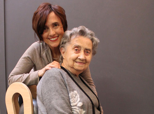 Maria Mankin, here with her mother Lina, has opened a pilates studio in the Alameda neighborhood. (Begin Pilates)