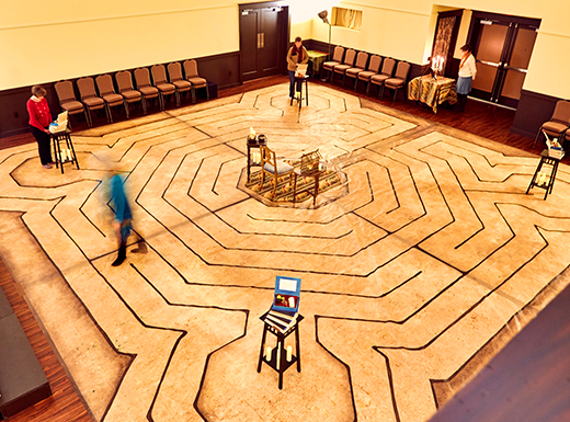 Alberta's Cerimon House adds monthly labyrinth walk